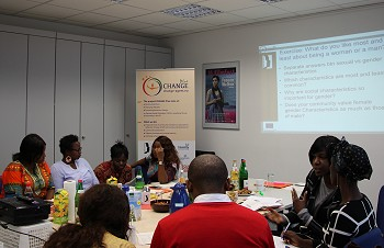 CHANGE Agent Training in Berlin. Photo: © TERRE DES FEMMES